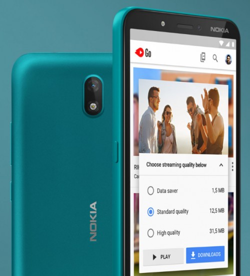 Nokia C2 announced with a front-facing flash and quad-core CPU