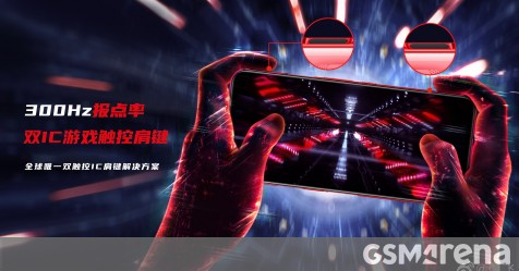 Red Magic 5G to have 300Hz touch sampling shoulder triggers and a game mic