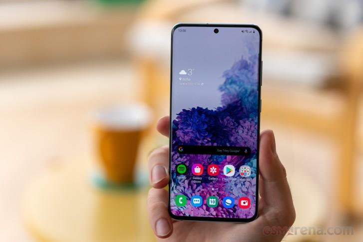سيتيح Samsung One UI 2.5 التنقل بالإيماءات لمشغلات الطرف الثالث