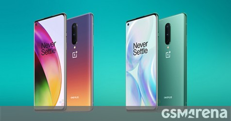 OnePlus 8 press images show new color options