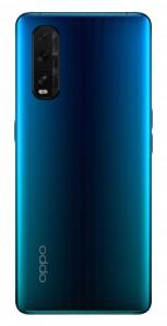 Oppo Find X2 in Ceramic Black, Ocean Blue