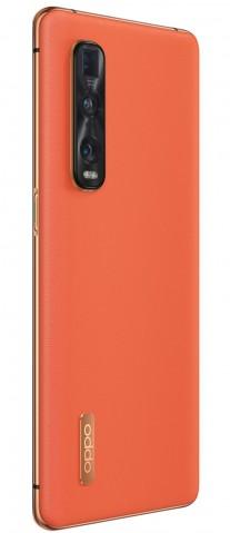 Oppo Find X2 Pro in Ceramic Black and Vegan Leather Orange