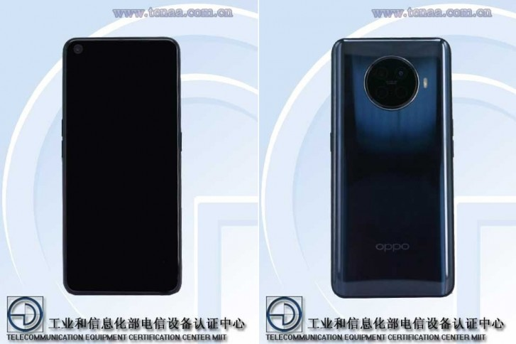 Images of Oppo PDHM00 believed to the Reno Ace 2