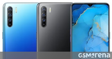 Oppo Reno3 global variant's specs and image surface: Helio P90 and 48MP quad camera