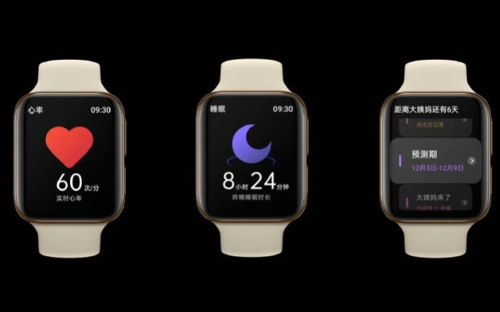 Oppo Watch is here: Wear OS and ECG sensor and two sizes