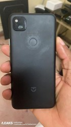 The Pixel 4a without the case