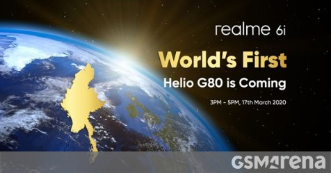 Realme 6 and 6 Pro land in Europe on March 24, Realme 6i gets announced on March 17