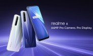 Realme 6 now available for purchase