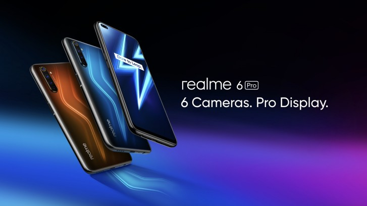 Realme 6 and Realme 6 Pro are official with 30W fast charging, 90 Hz displays