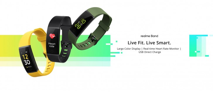 Realme Band unveiled with HR monitoring, notifications and 10 day battery life