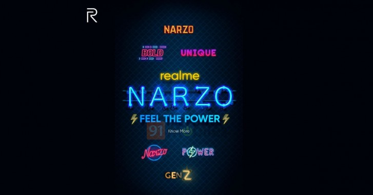 Realme Narzo is a new smartphone series from the brand