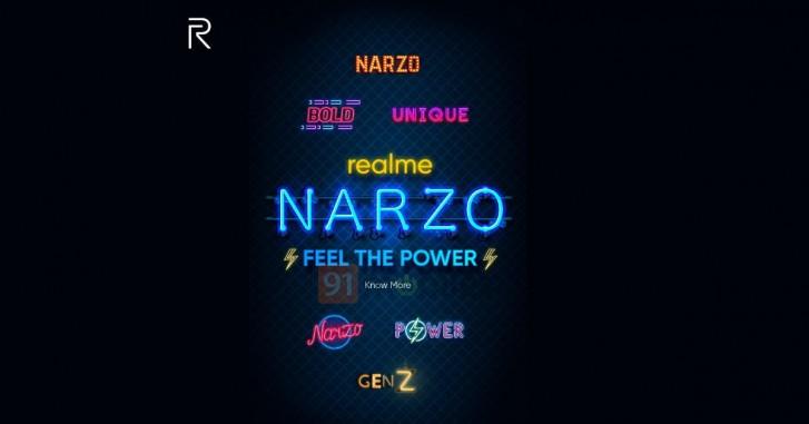 Realme ستطلق سلسلة Narzo للهواتف الذكية للتعامل مع Redmi و POCO