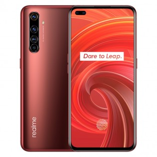Realme X50 Pro 5G in Rust Red color