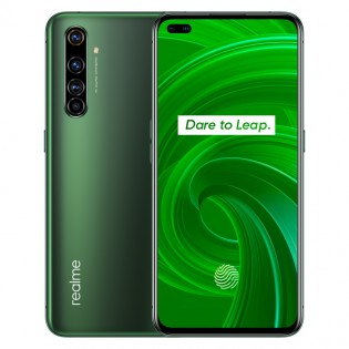 Realme X50 Pro 5G in Moss Green color