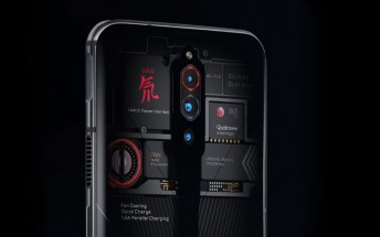 nubia Red Magic 5G will have a Transparent Edition that shows the fan spinning