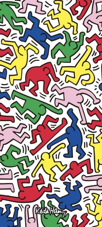 Redmi x Keith Haring wallpapers