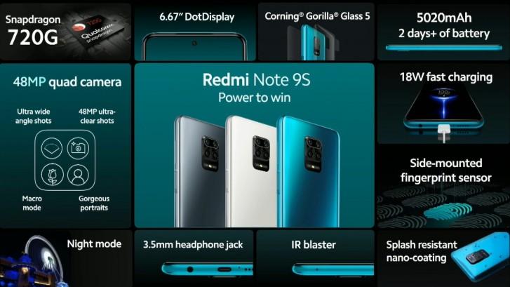 تم إطلاق Redmi Note 9S رسميًا في 7 أبريل ، ولكن يمكنك الحصول عليه قريبًا