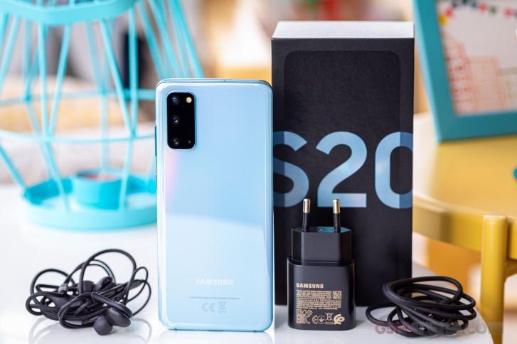 Samsung Galaxy S20 in للمراجعة