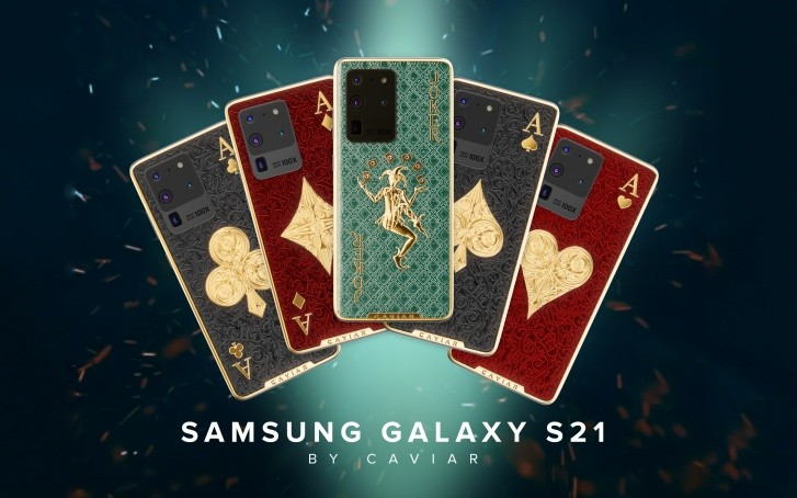Samsung Galaxy S20 Ultra gets Caviar treatment inspired by playing cards