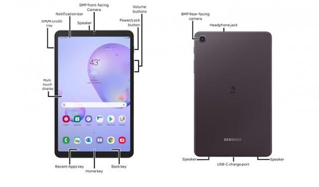 Samsung Galaxy Tab A 8.4 (2020) render