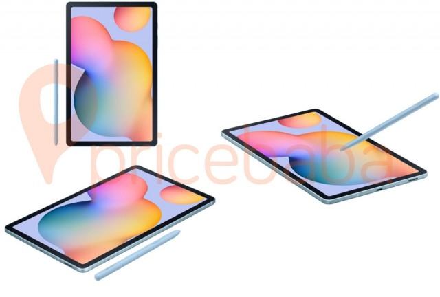 New Samsung Galaxy Tab S6 Lite renders