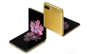 Samsung Galaxy Z Flip Mirror Gold version goes on sale in India on March 20