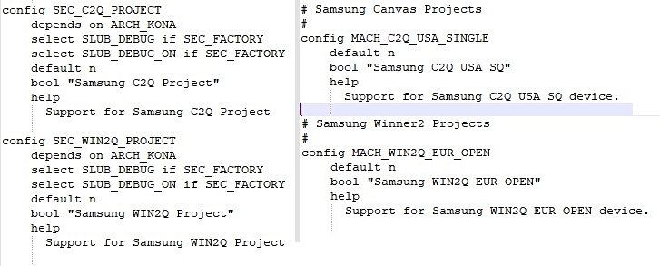 Galaxy Note20 and Galaxy Fold2will use the S865 chipset, info found in kernel source code