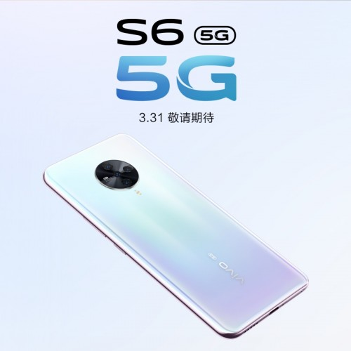 vivo S6 5G official poster