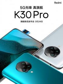 Redmi K30 Pro teasers