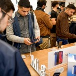 Photos from the opening of the first and only Mi Store in the UK