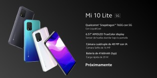 Xiaomi Mi 10 Lite spec highlights