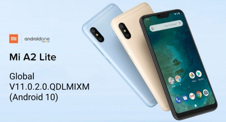 Xiaomi Mi A2 Lite starts receiving Android 10