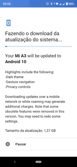 Xiaomi Mi A3 Android 10 rollout resumes