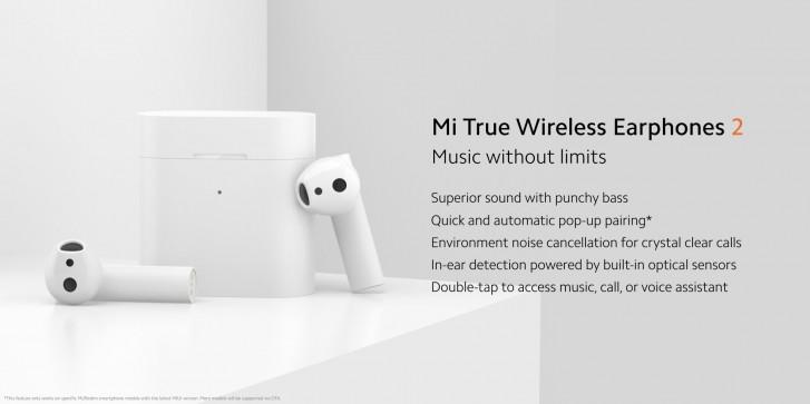 Xiaomi brings TWS earphones 2, Wi-Fi 6 router, 65'' TV to Europe