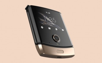 Blush Gold Motorola Razr is now up for grabs in the US