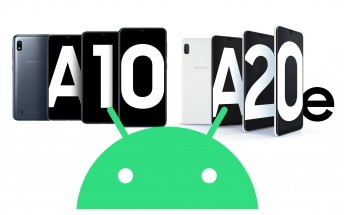 Samsung Galaxy A20e and Galaxy A10 also make the jump to Android 10