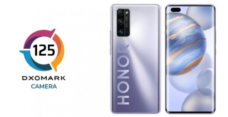 Honor 30 Pro+ ranked second best in DxOMark's tests