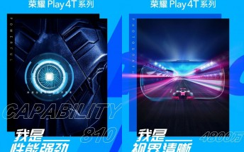 Honor Play 4T series key specs confirmed