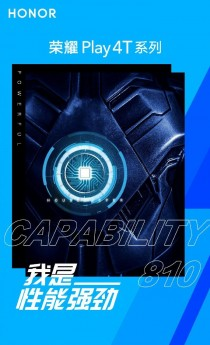 Honor Play 4T key specs posters