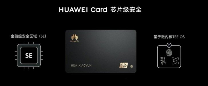 Huawei card unveiled, because If Apple has one, so must Huawei