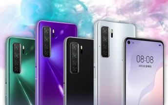 Huawei nova 7 sales kick off in China, but phones may ship next week