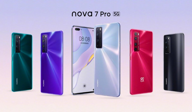 Huawei nova 7, 7 SE and 7 Pro debut with 64MP cameras and 5G ...