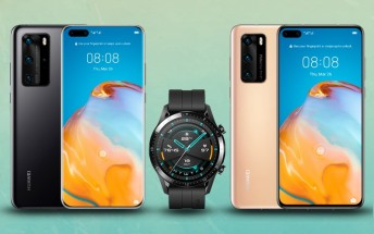 Huawei P40 and P40 Pro now available in Europe, come with free Watch GT 2 or 2e