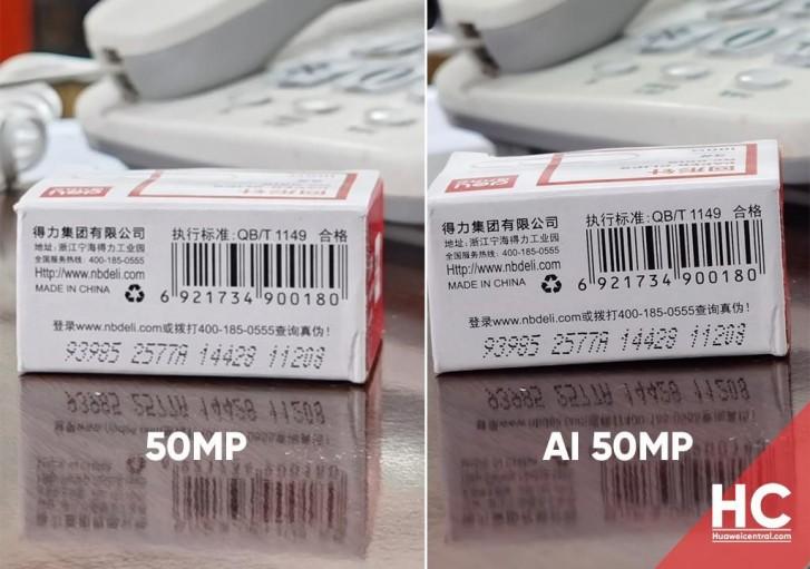 Huawei P40 series mendapatkan mode kamera AI 50MP baru melalui pembaruan