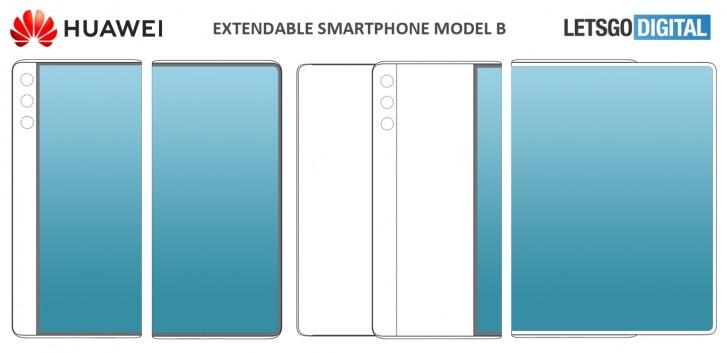 تقدم Huawei براءتي اختراع لشاشات العرض المنزلقة