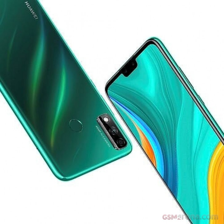 Huawei Y8s leaks with a notch, dual cameras