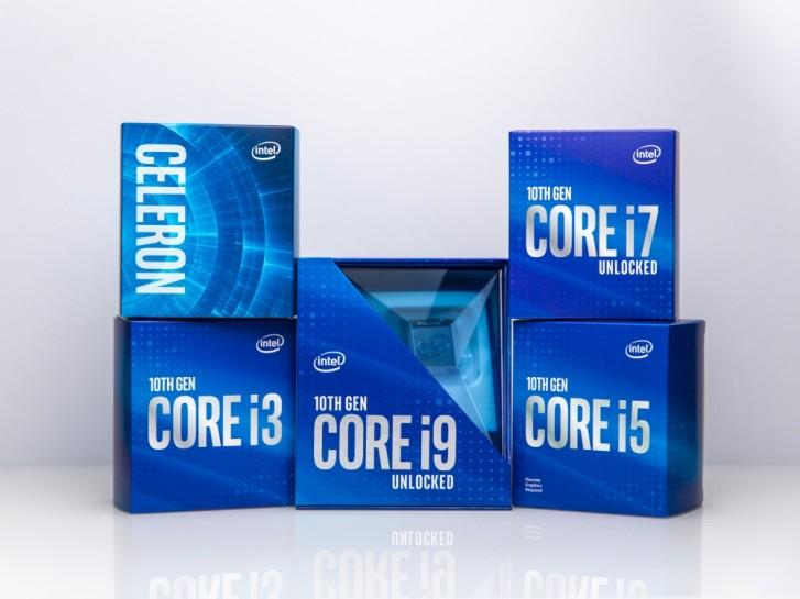 Intel unveils 10th generation Comet Lake desktop processors