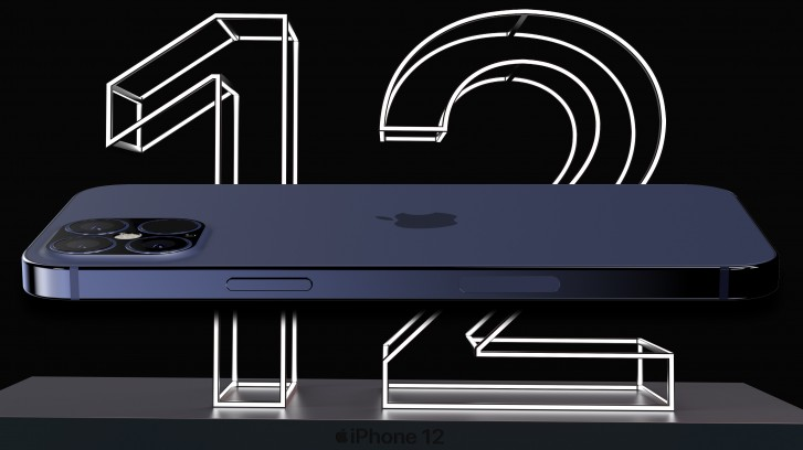 The design of the iPhone 12 Pro Max is fully visible through leaked CAD renders