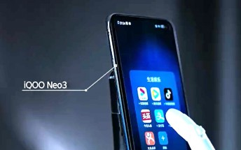 iQOO Neo3 5G gets 600,000+ AnTuTu score, will have a 144Hz screen with adaptive refresh rate