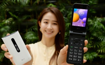 LG Folder 2 flip phone announced: Dual Display, SOS Key, and 4G support